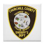 Churchill County Sheriff Tile Coaster