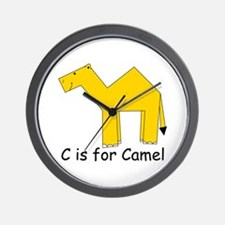 C is for Camel Wall Clock