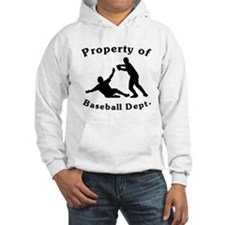 Property Of Baseball Dept Jumper Hoody