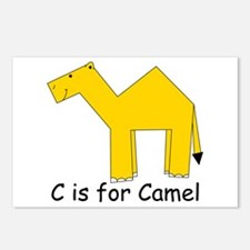 C is for Camel Postcards (Package of 8)