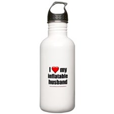 """Love My Inflatable Husband"" Water Bottle"