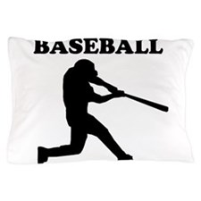 Baseball Batter Pillow Case