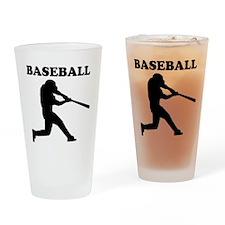 Baseball Batter Drinking Glass