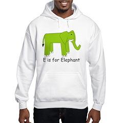 E is for Elephant Hoodie
