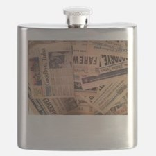 Dead Newspapers Flask