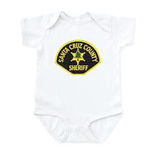 Santa Cruz Sheriff Infant Bodysuit