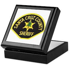 Santa Cruz Sheriff Keepsake Box