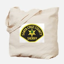 Santa Cruz Sheriff Tote Bag