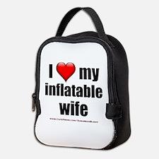"""Love My Inflatable Wife"" Neoprene Lunch Bag"