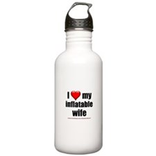 """Love My Inflatable Wife"" Water Bottle"