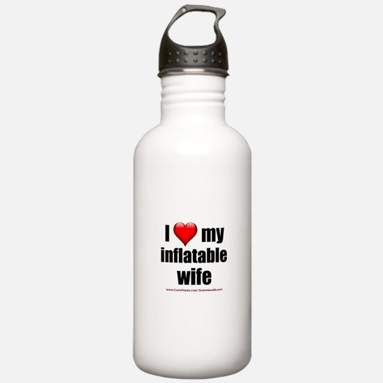 """""""Love My Inflatable Wife"""" Water Bottle"""