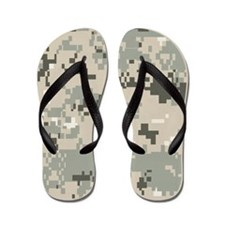 Camouflage Flip Flops
