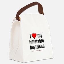 """Love My Inflatable Boyfriend"" Canvas Lunch Bag"
