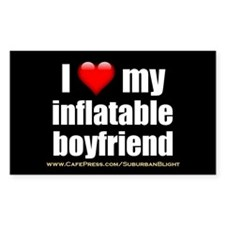 """Love My Inflatable Boyfriend"" Decal"