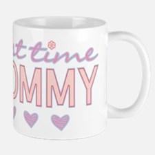 Girly First Time Mommy Mugs