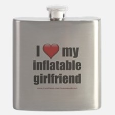 """""""Love My Inflatable Girlfriend"""" Flask"""