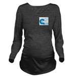 New Logo Long Sleeve Maternity T-Shirt