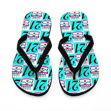 DELIGHTFUL 21ST Flip Flops