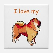 I love my Chow Chow Tile Coaster