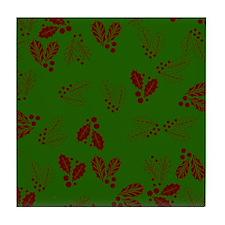 Holly v2 Tile Coaster