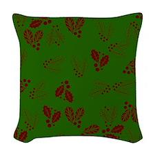 Holly v2 Woven Throw Pillow
