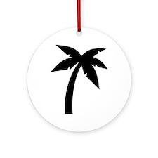 Palm icon symbol Ornament (Round)