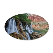 Fifty Foot Falls Wall Decal