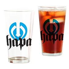 Hapa Logo Drinking Glass