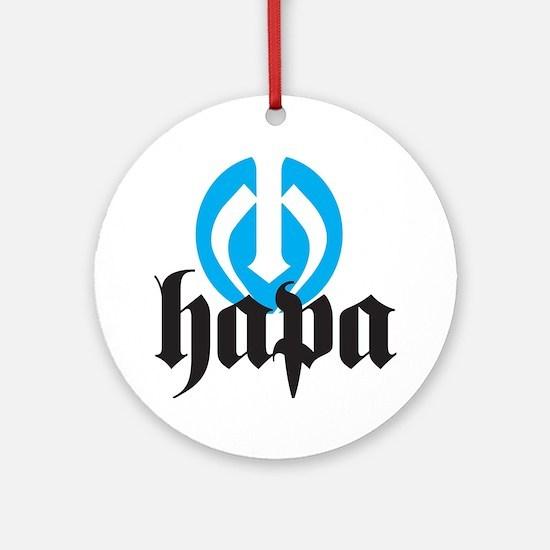 Hapa Logo Round Ornament