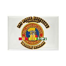 USMC - 1st Radio Battalion - w VN SVC Ribbon Recta
