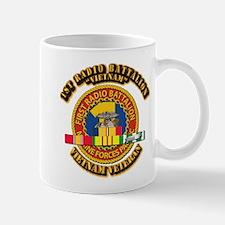 USMC - 1st Radio Battalion - w VN SVC Ribbon Mug