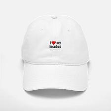 """""""Love My Incubus"""" Baseball Baseball Cap"""