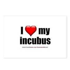 """Love My Incubus"" Postcards (Package of 8)"
