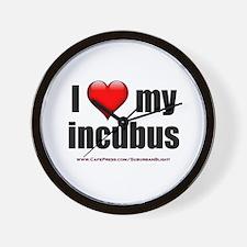 """Love My Incubus"" Wall Clock"
