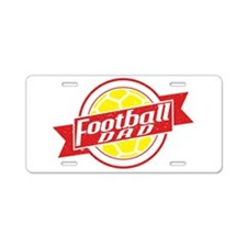 Football Dad Aluminum License Plate