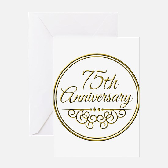75th Anniversary Greeting Cards