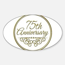 75th Anniversary Decal