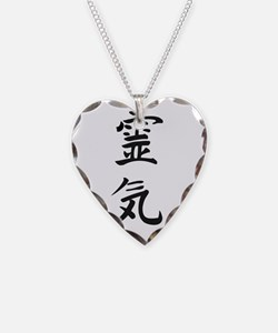 Reiki in Japanese characters Necklace