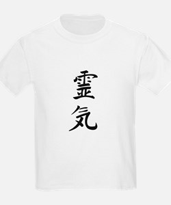Reiki in Japanese characters T-Shirt