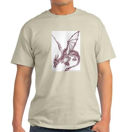 Sepia Fire Drake Light T-Shirt