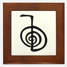 Reiki Power Symbol - cho ku rei Framed Tile