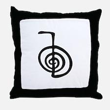 Reiki Power Symbol - cho ku rei Throw Pillow