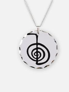 Reiki Power Symbol - cho ku rei Necklace