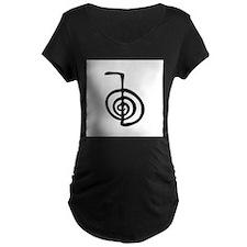 Reiki Power Symbol - cho ku rei Maternity T-Shirt