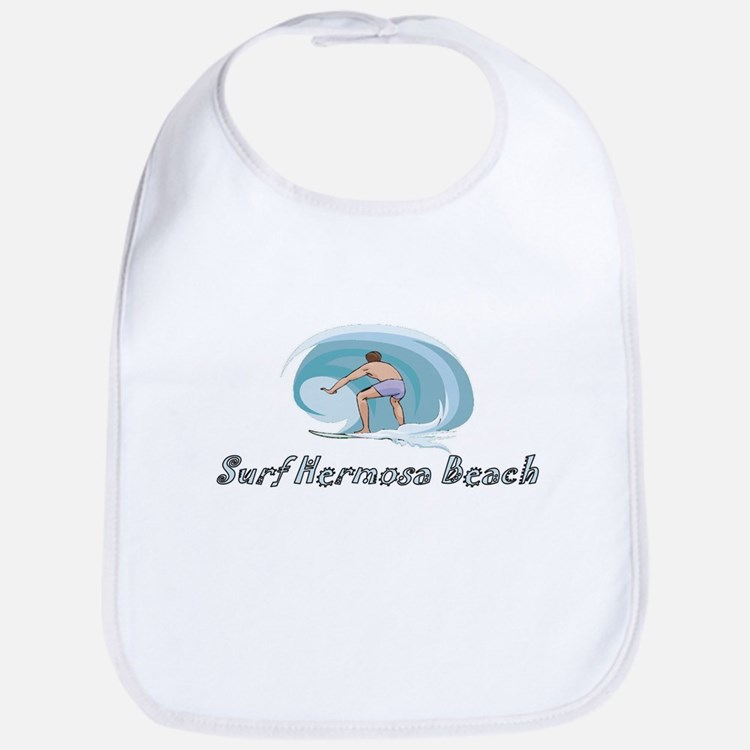 Surf Hermosa Beach, Californi Bib