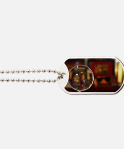 Magnifying Glass Dog Tags