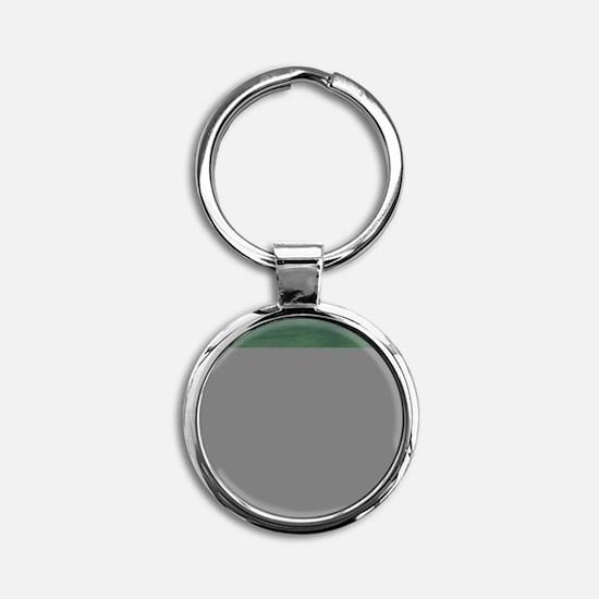 Moose Round Keychain