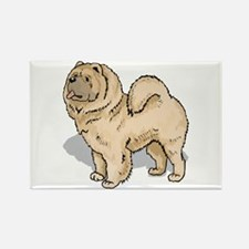 Chow Chow Rectangle Magnet (100 pack)