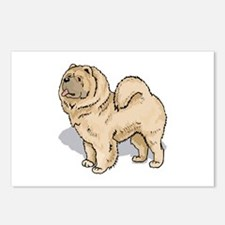 Chow Chow Postcards (Package of 8)