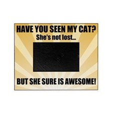 Awesome Cat Picture Frame